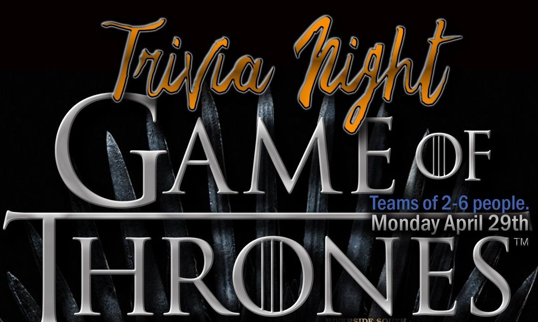 Trivia Night: Games of Thrones